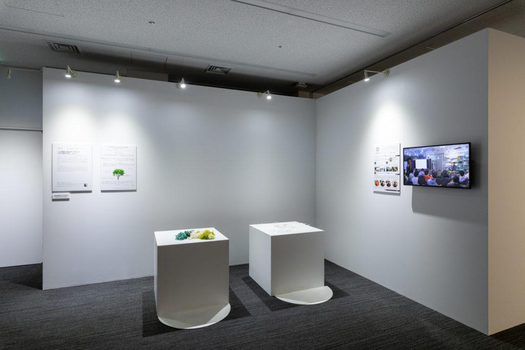 「文化庁メディア芸術祭」展示 場所:日本科学未来館